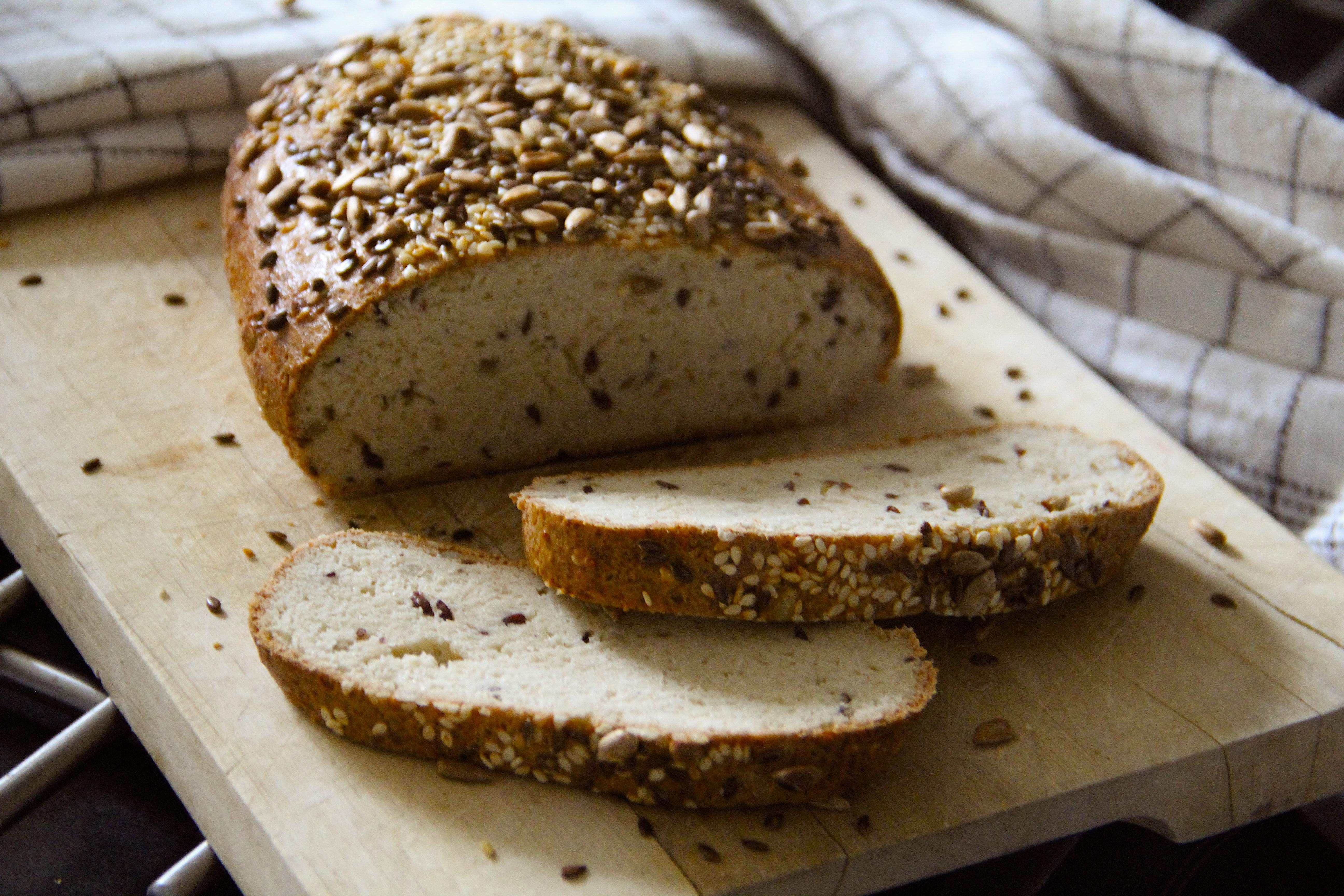 Najobľúbenejší domáci nízkosacharidový chlebík