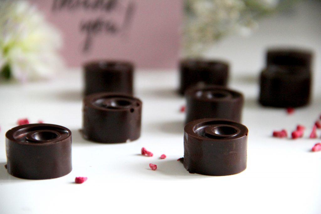 Čokoládové pralinky bez cukru