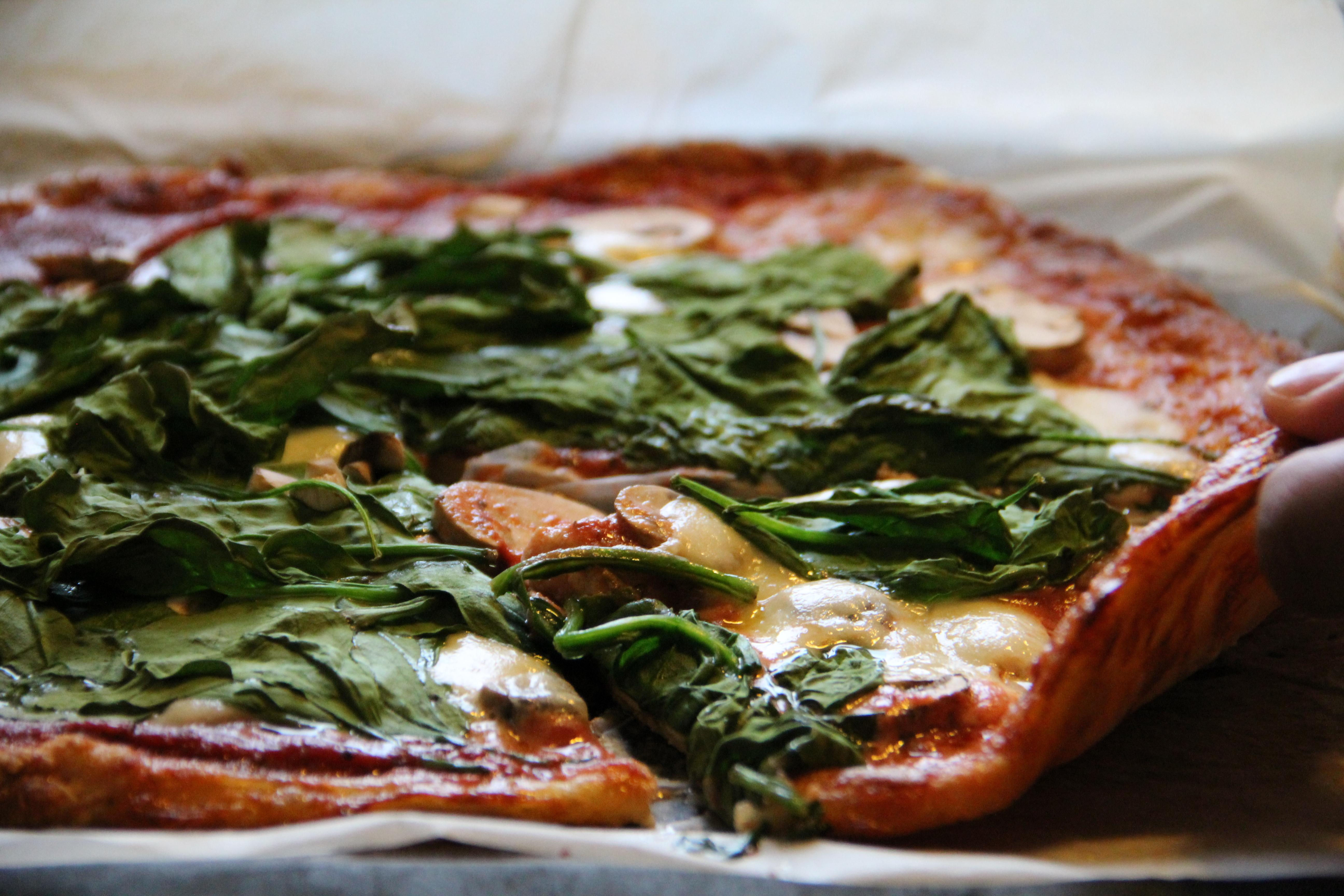 pizza bez múky
