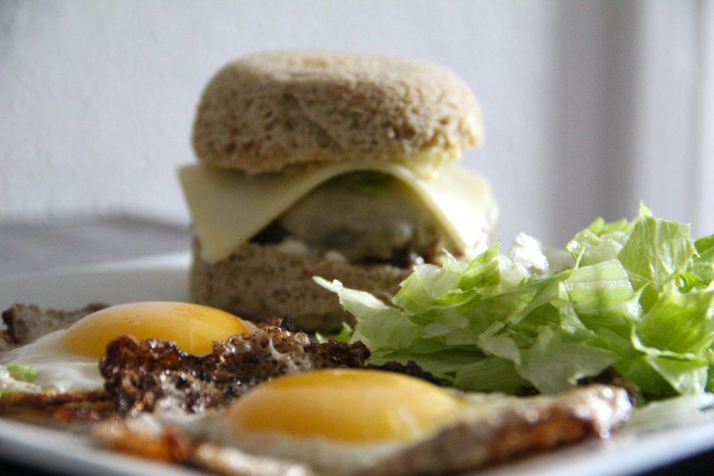 burger bez múky