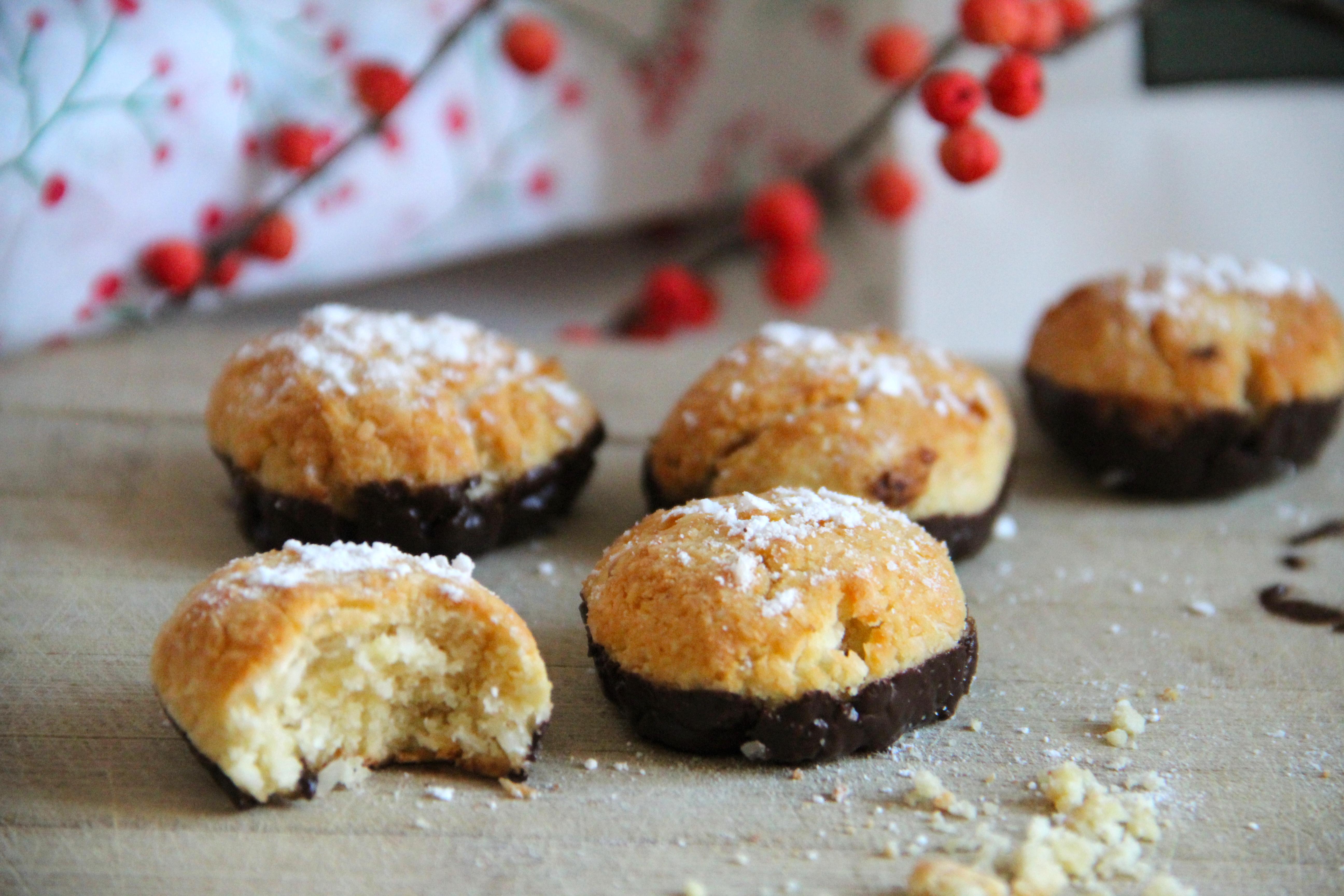 Vianočné nízkosacharidové kokosky bez cukru