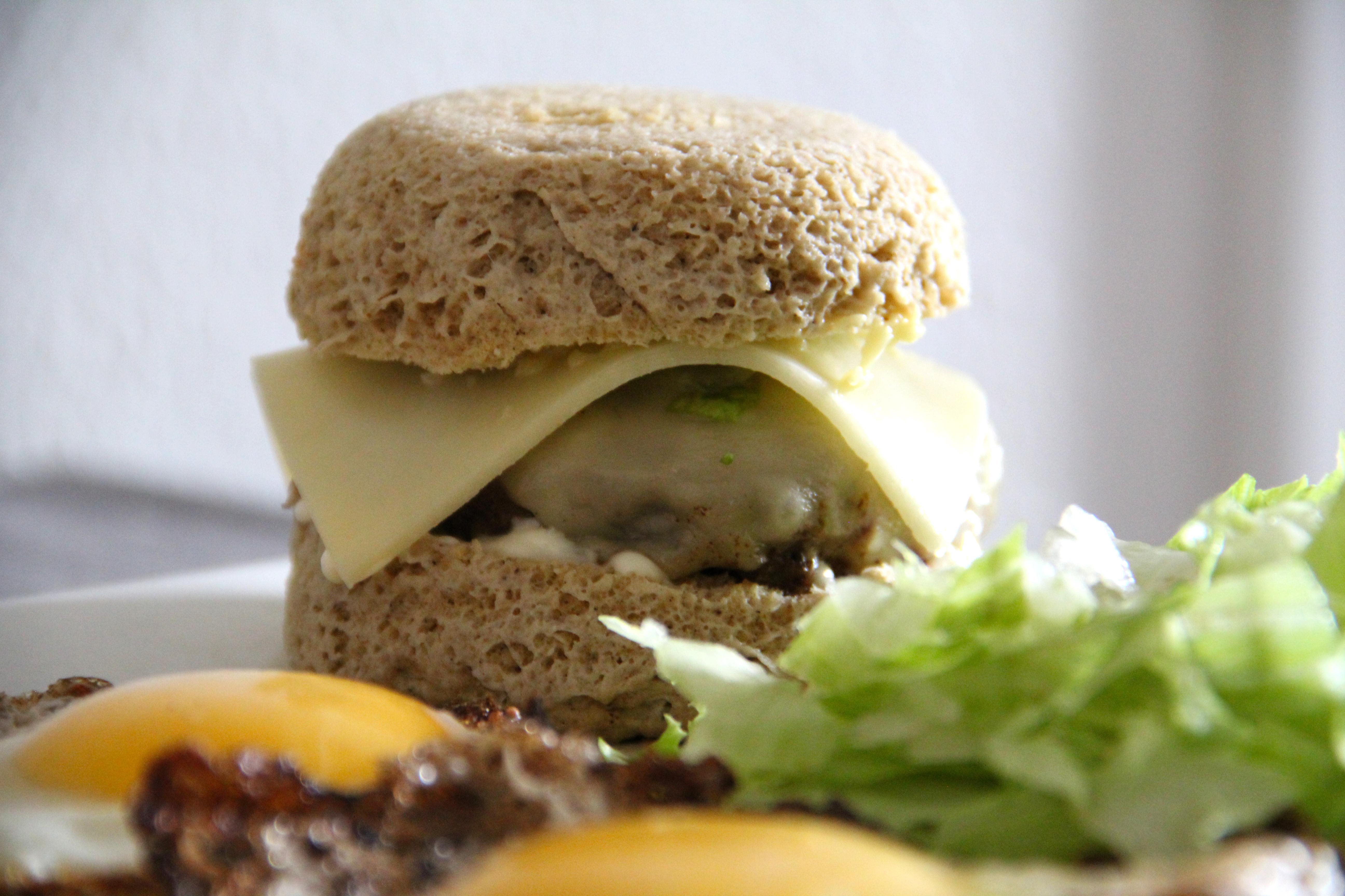 Najjednoduchší nízkosacharidový burger bez múky