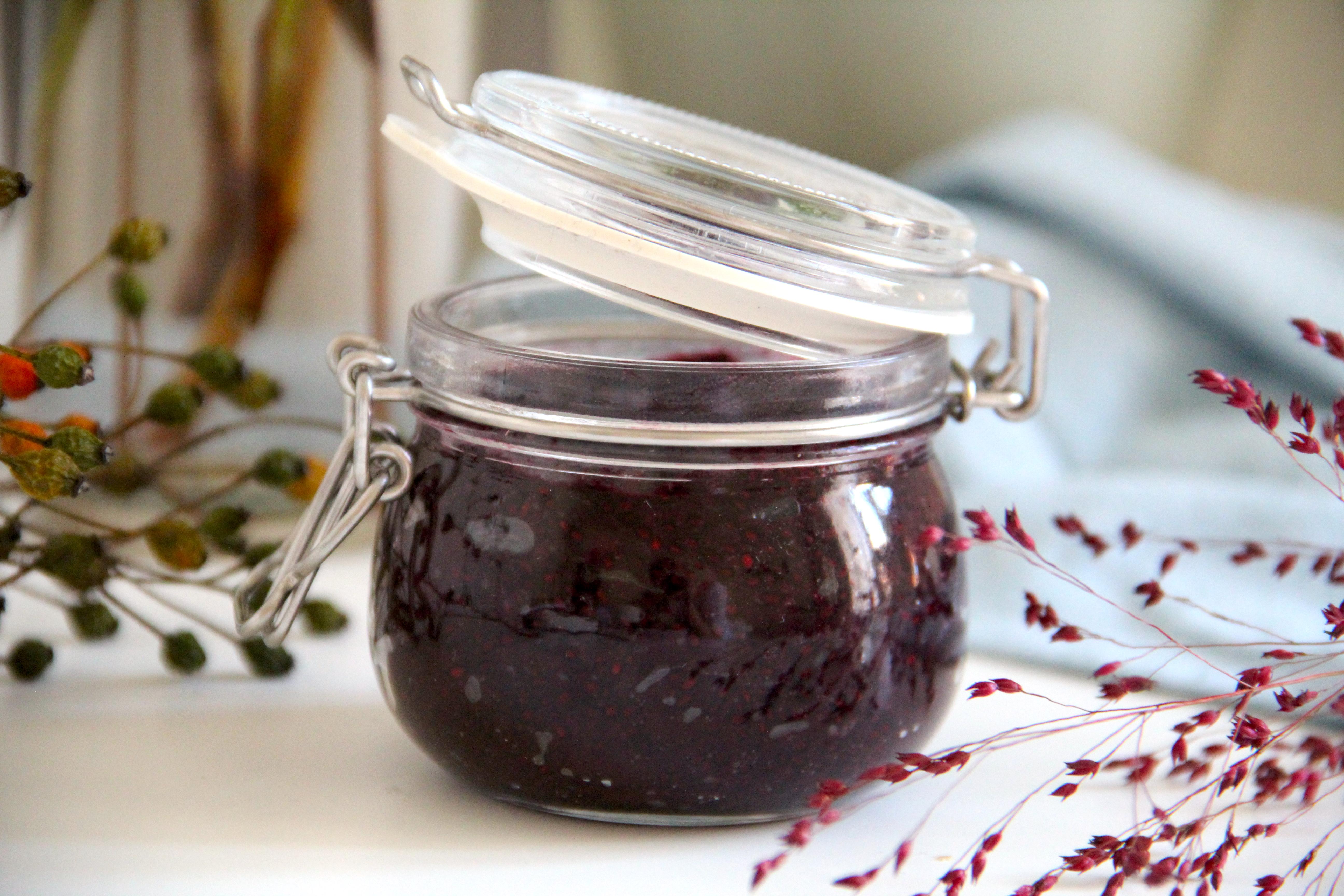 čučučoriedkový džem bez cukru
