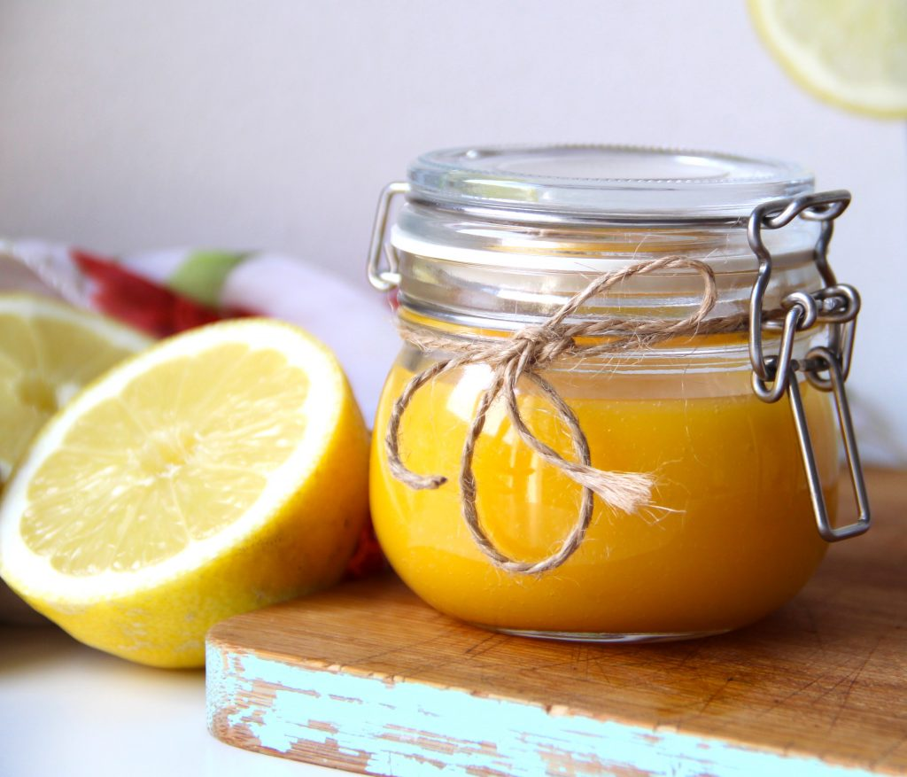 lemon curd bez cukru