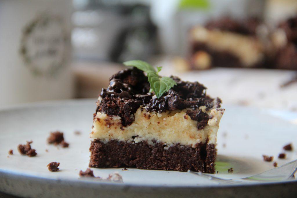 strúhaný tvarohový koláč bez cukru