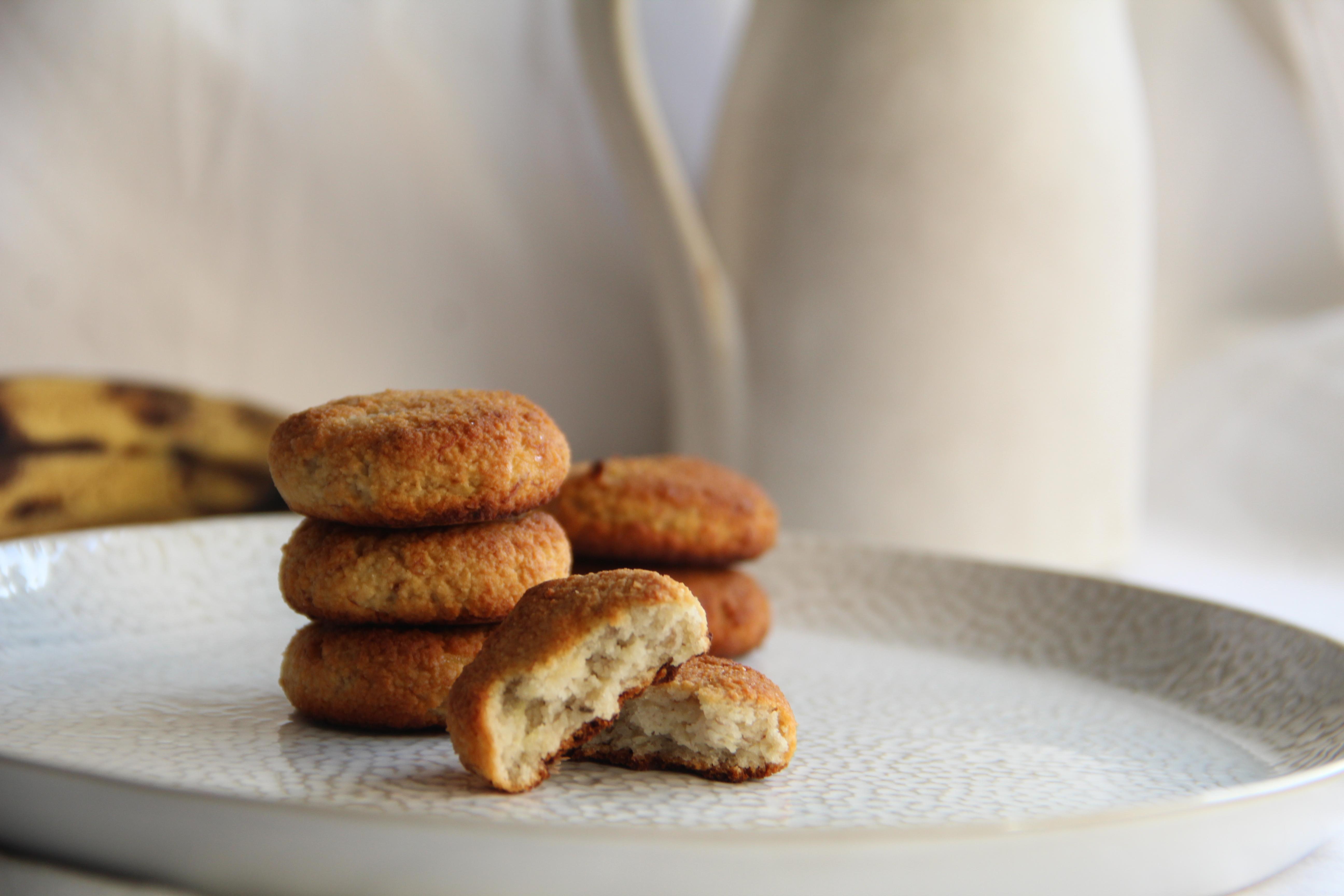 Banánové vegan sušienky bez cukru len z dvoch surovín