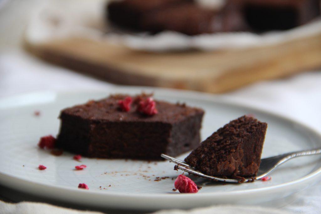 brownies bez múky a cukru