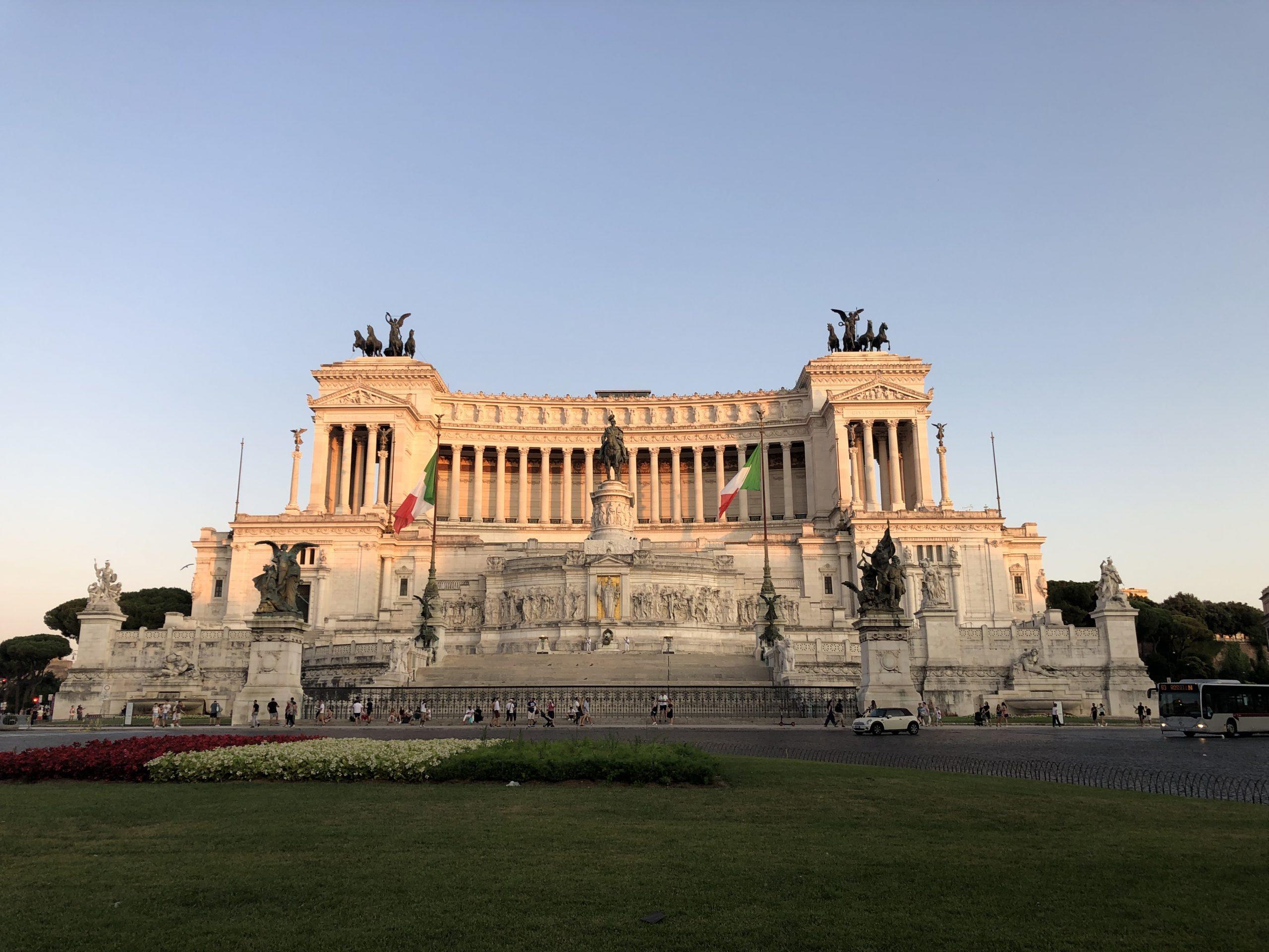 víkend v Ríme