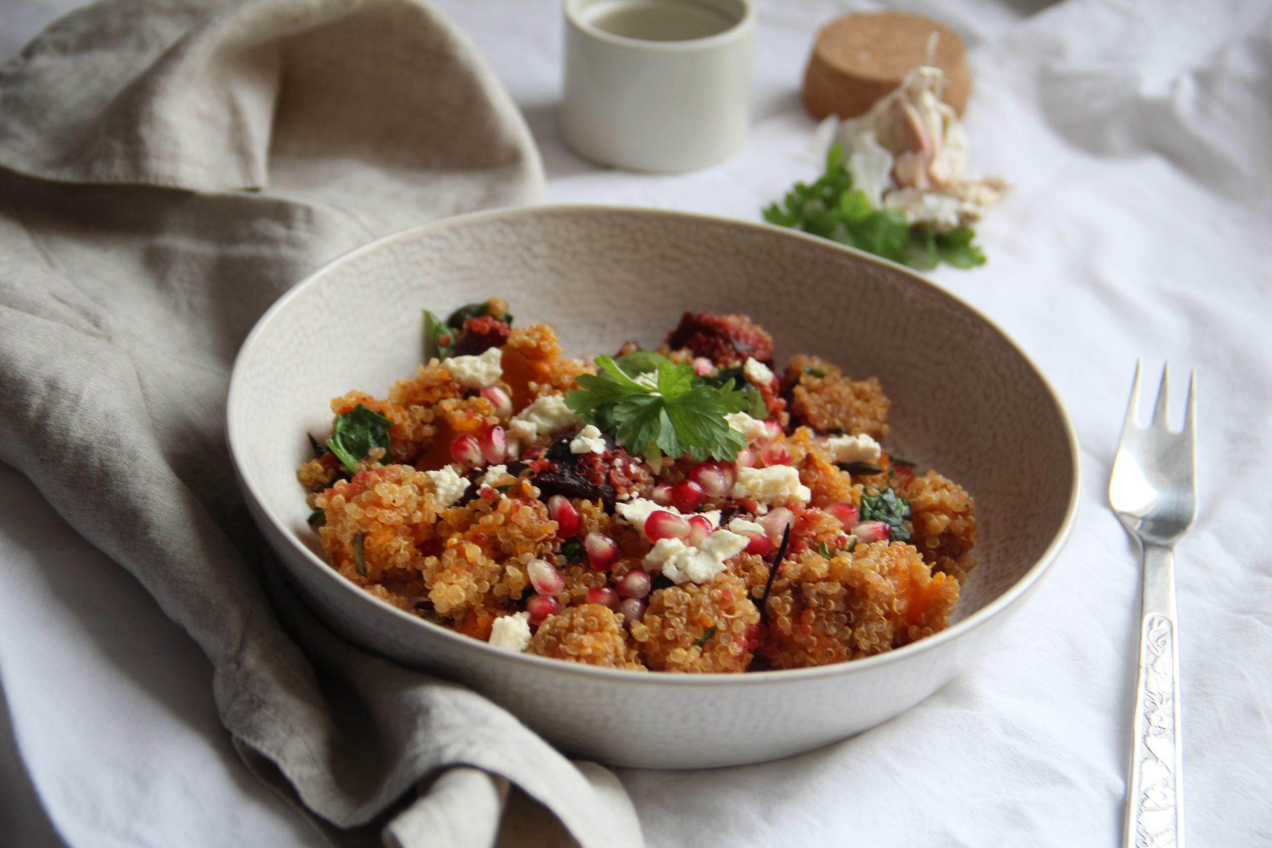 quinoový šalát